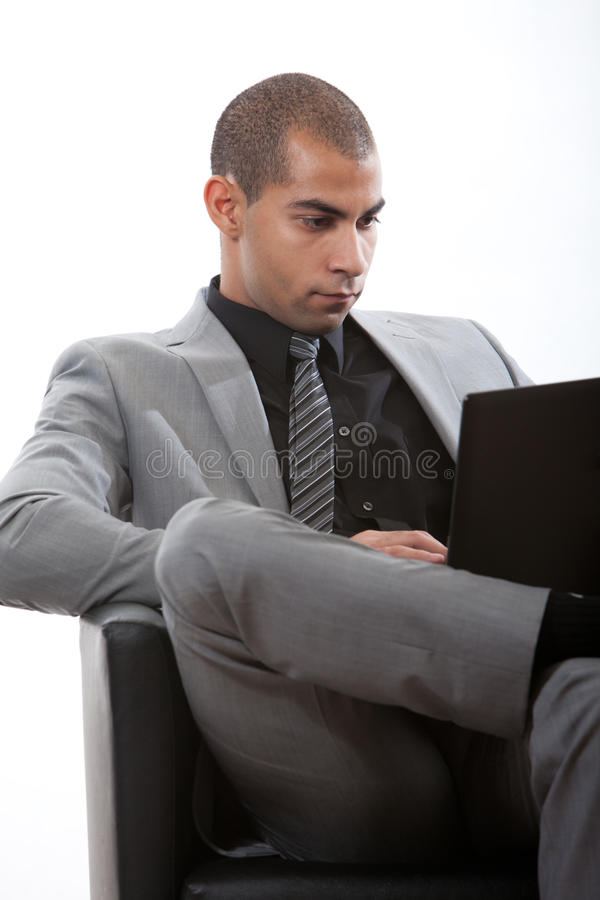Download Young African American Black Businessman Stock Photo - Image: 28493602