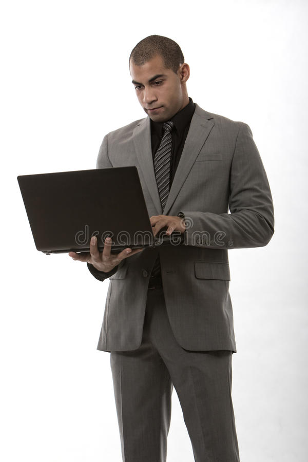 Young African American Black Businessman Stock Image