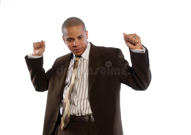 Young African American Male royalty free stock image