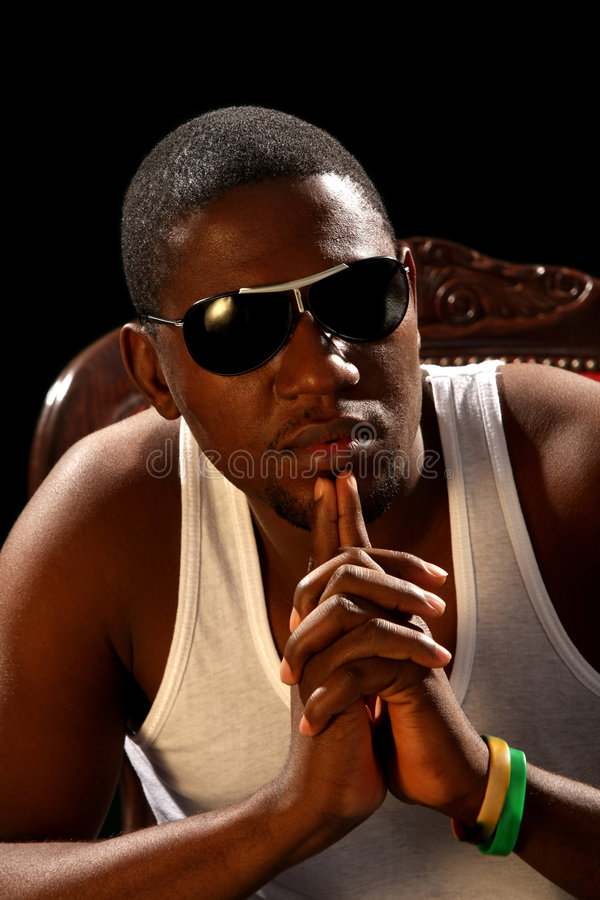 Download Young African American Male Stock Photo - Image: 8357350
