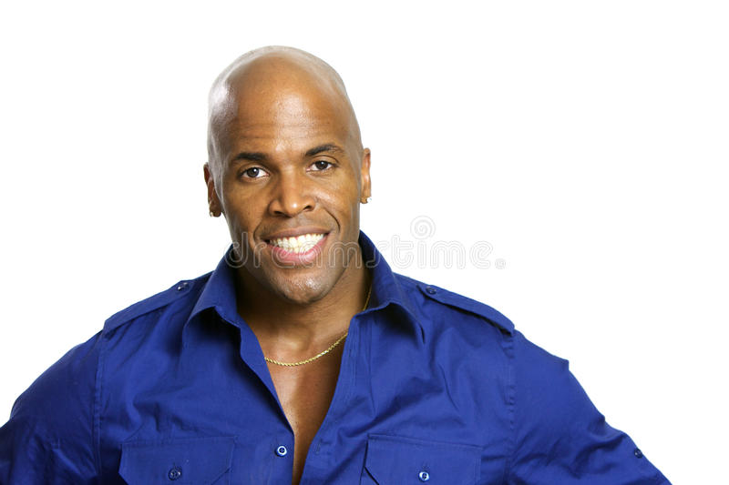 Young African American Man royalty free stock photo