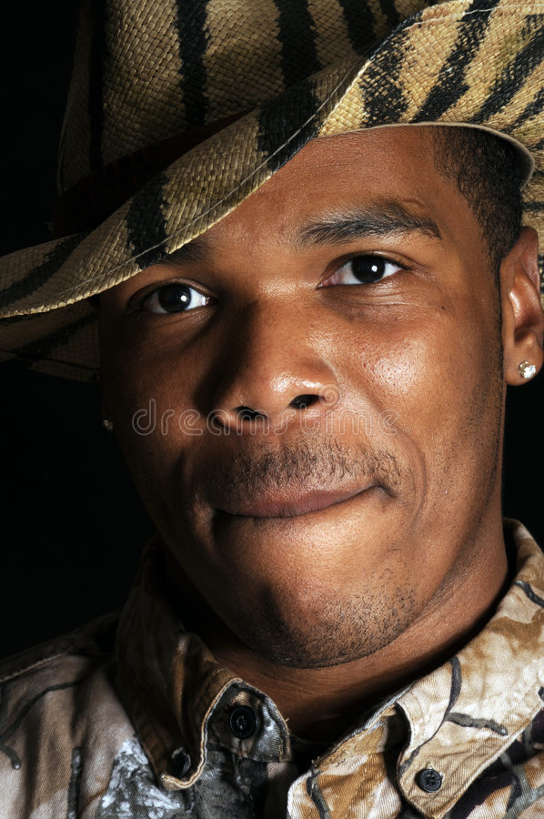 Young African American man stock photos