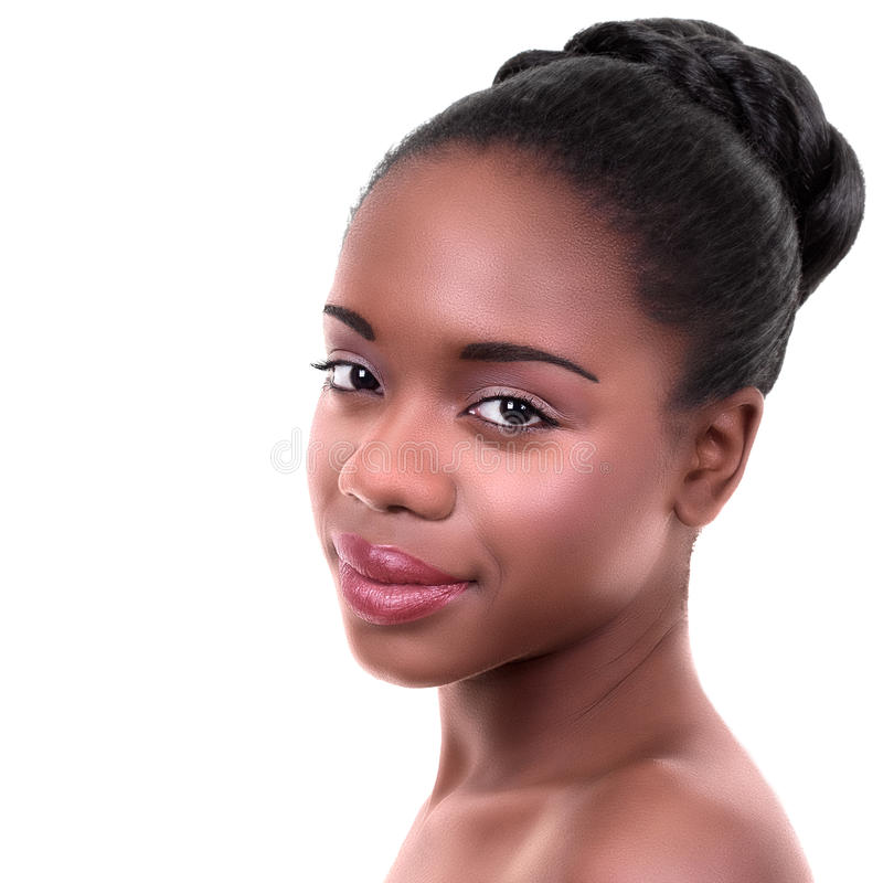 Young African American Woman stock images