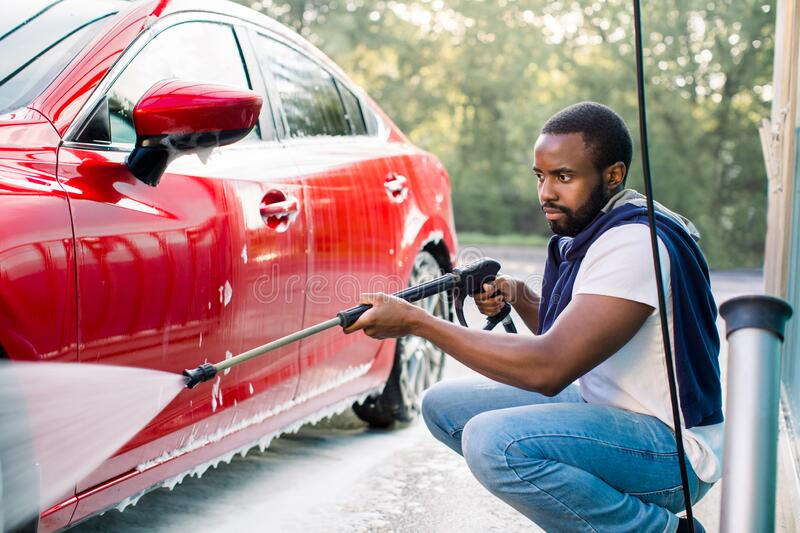 Image result for black man Car Cleaners And Conditioners