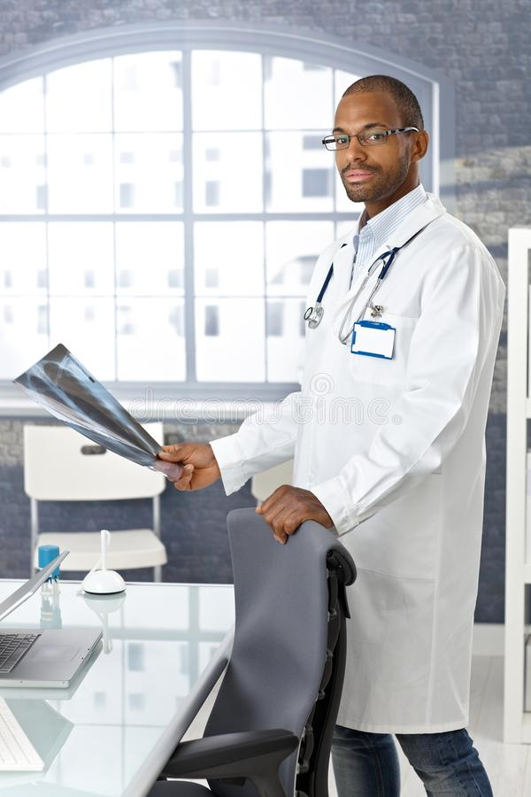 Download Young Afro Doctor With Xray Image Stock Images - Image: 23376144