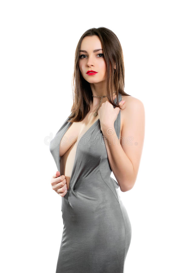 Young Alluring Lady Stock Image