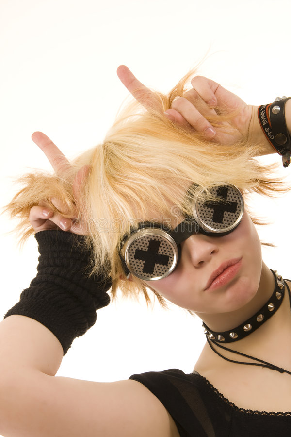 Young Alternative Girl Royalty Free Stock Image