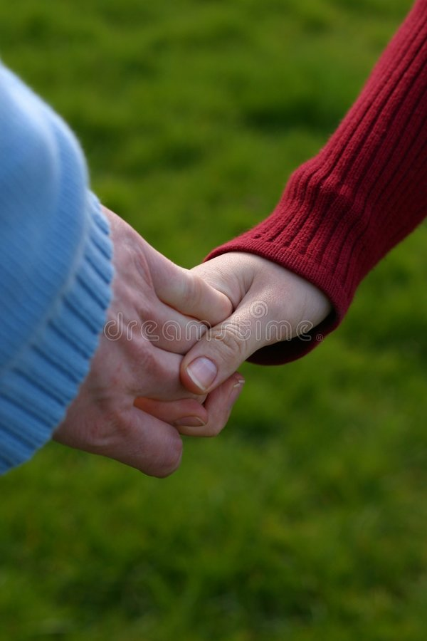 Free Young And Old Hands Stock Images - 2156454