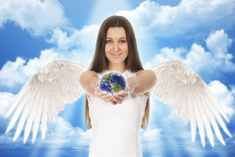"""Стихотворение """"Женщина - Ангел Небесный"""""""