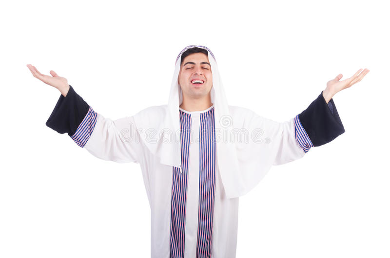 Young Arab Man Stock Photo