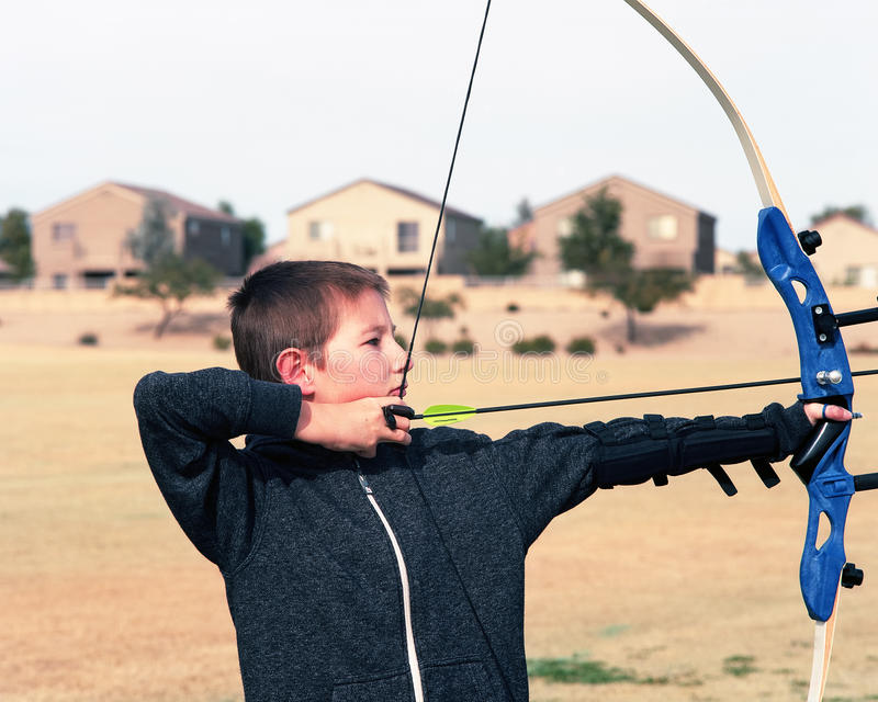 Young Archer Stock Image