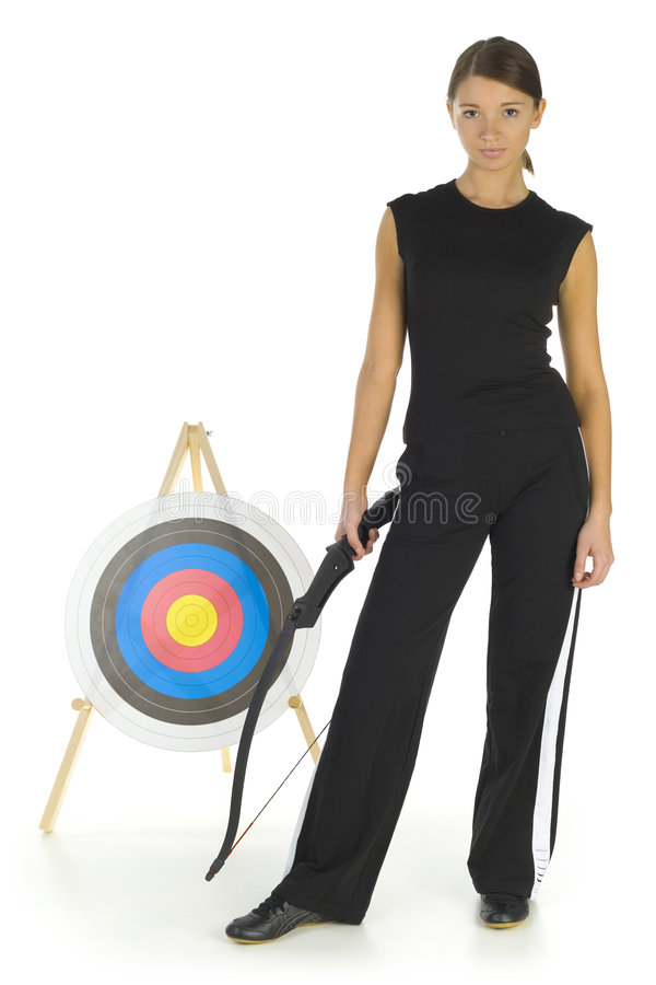 Young archer stock images