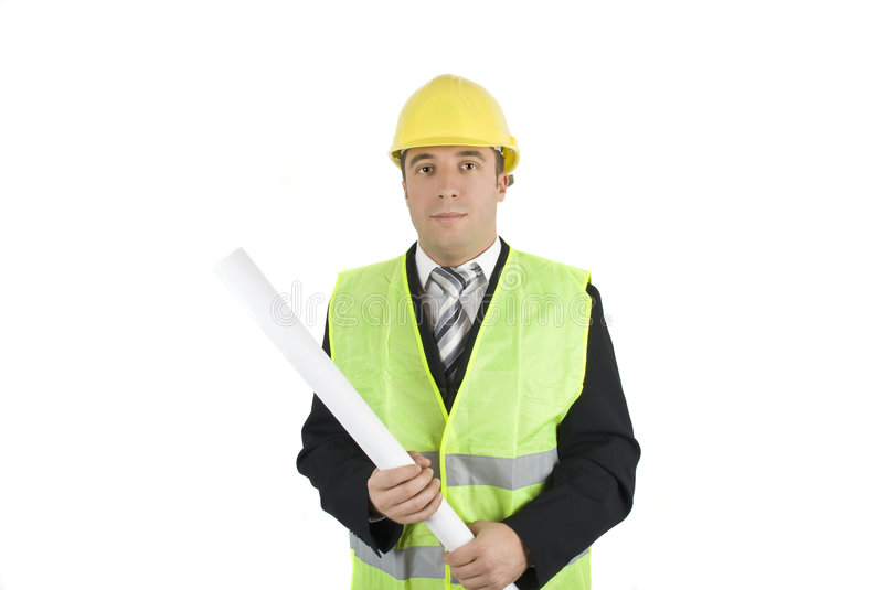 Download Young architect stock image. Image of engineer, smiling - 7878383