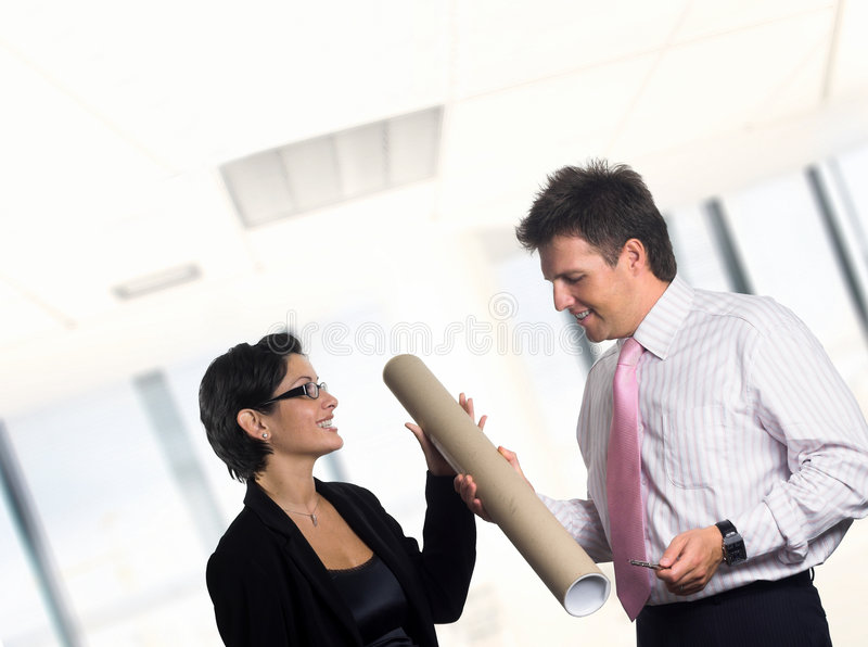 Download Young Architects Or Graphic Designers. Stock Photo - Image: 1769040
