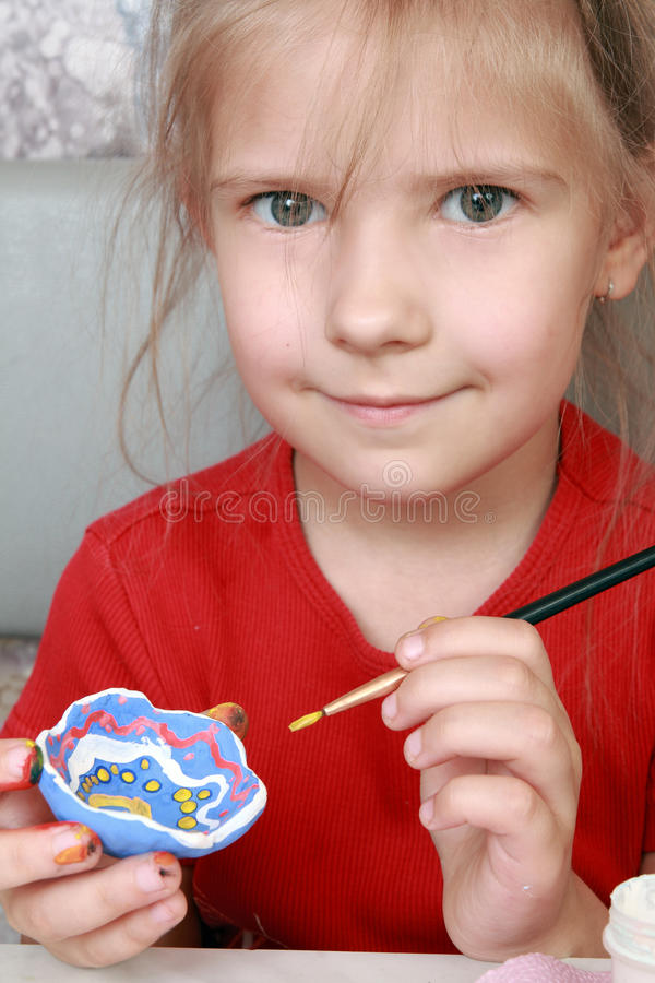 Download Young artist stock photo. Image of hair, color, student - 15326602