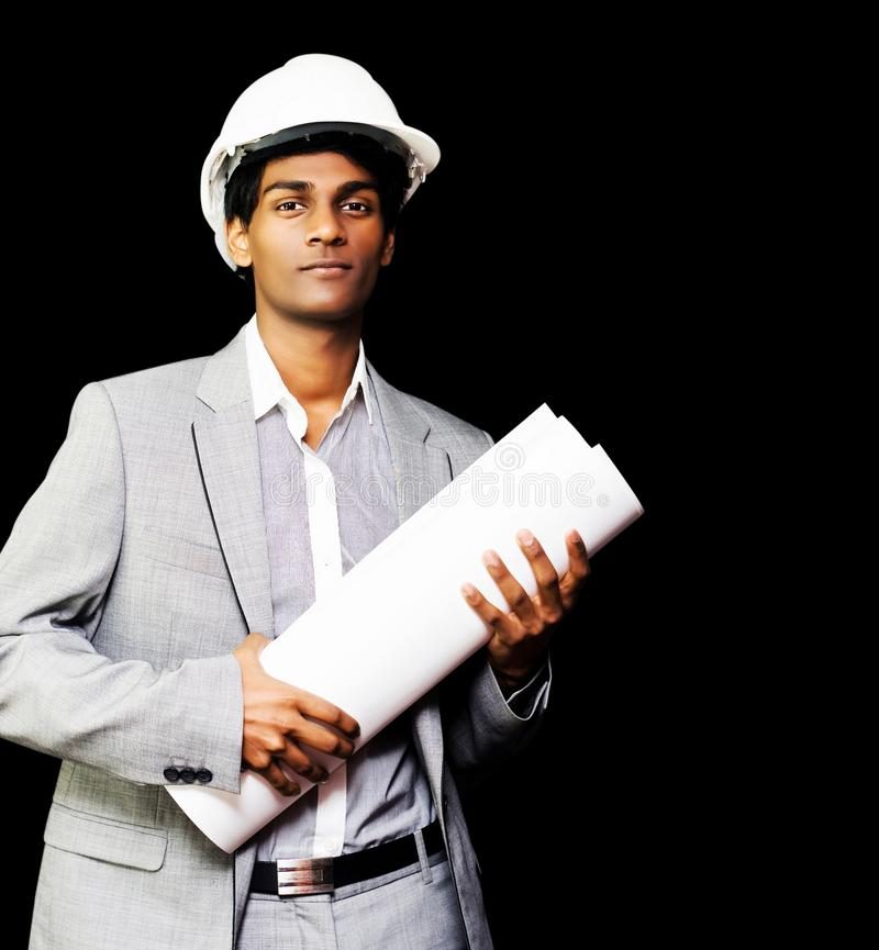 Download Young Asian Architect stock photo. Image of design, businessman - 25587482
