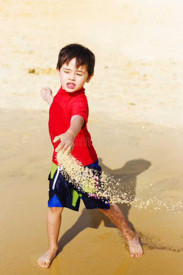 Download Young Asian Boy On Vacation Stock Image - Image: 24074385