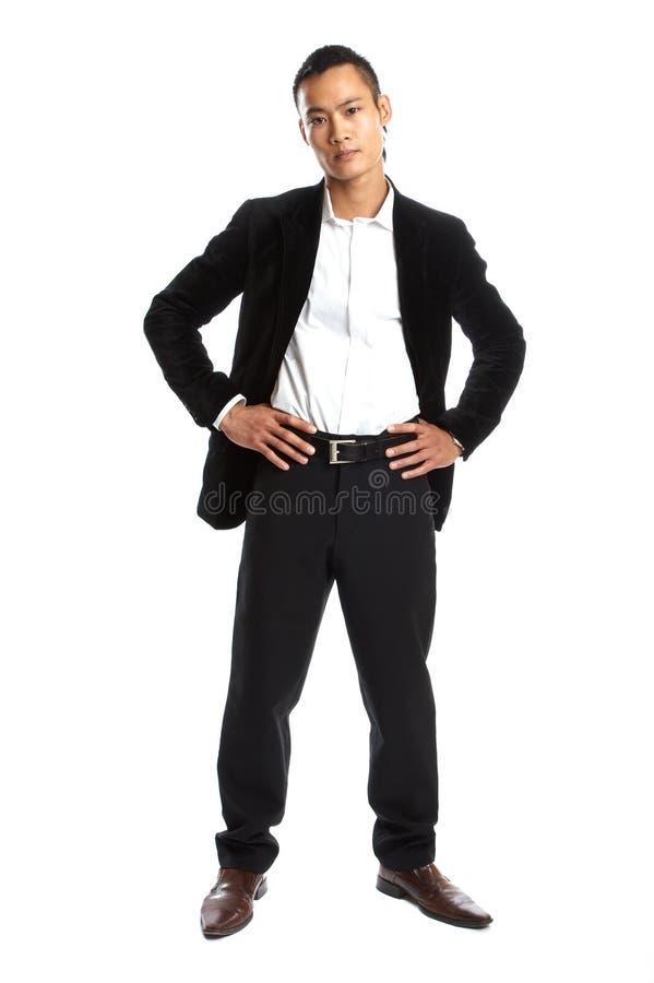 Young asian businessman stock photo