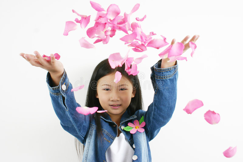 Young asian child 0001 stock image