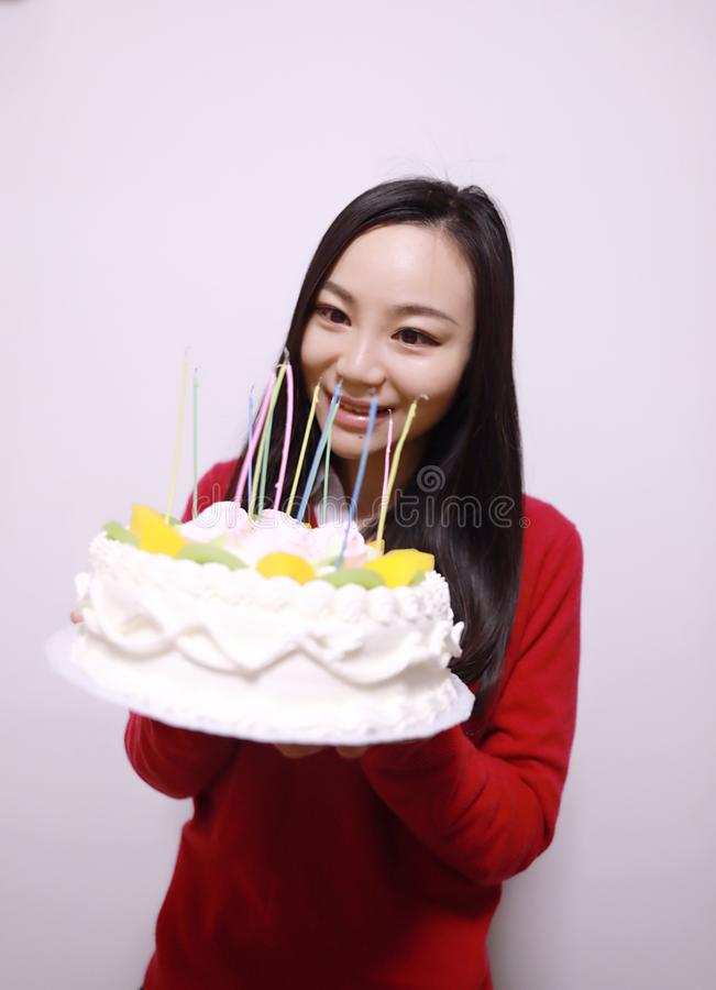 Stupendous Chinese Birthday Cake Stock Photos Download 711 Royalty Free Photos Funny Birthday Cards Online Inifofree Goldxyz