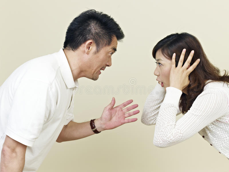 Download Young asian couple stock image. Image of conflict, divorce - 33686419