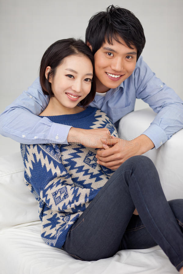 Download Young Asian Couple In Home Royalty Free Stock Image - Image: 29040916