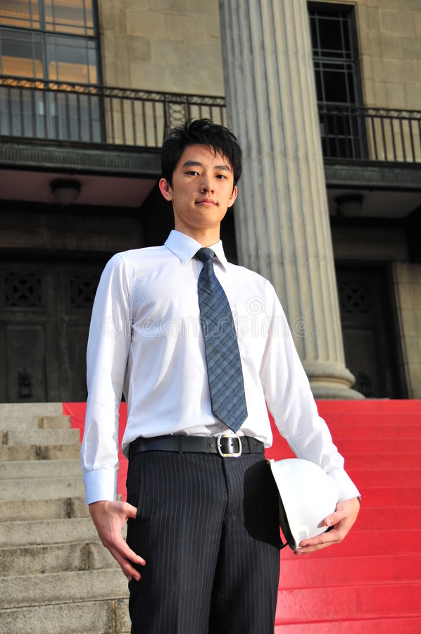 Download Young Asian Engineer 1 stock image. Image of engineering - 6241381