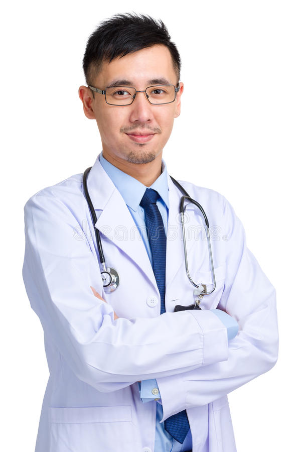 Consider, that Asian male doctor
