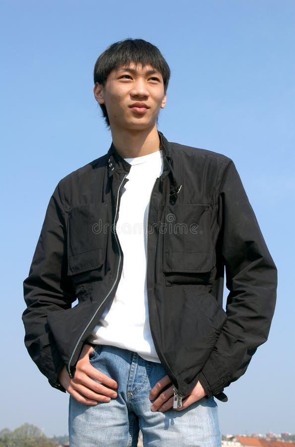 Young Asian Man stock images
