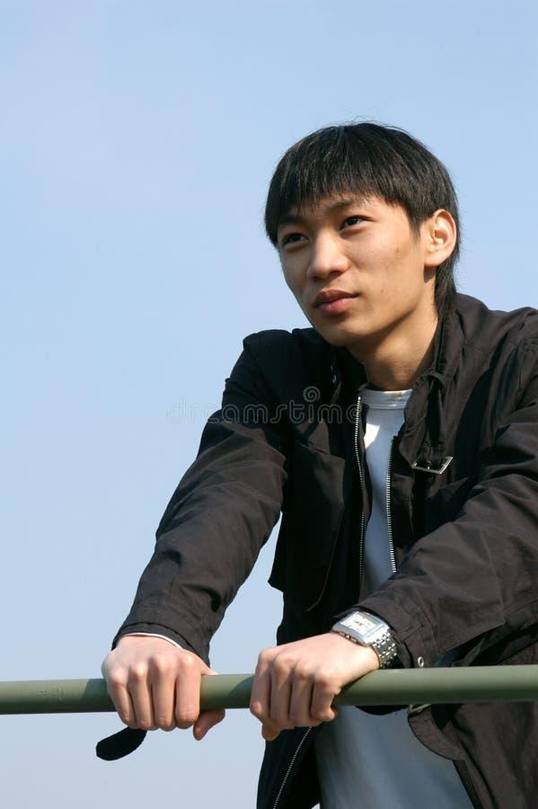 Young Asian Man royalty free stock image