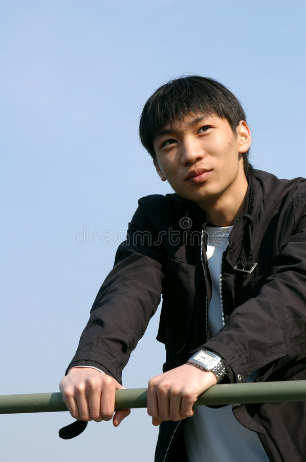 Young Asian Man royalty free stock images