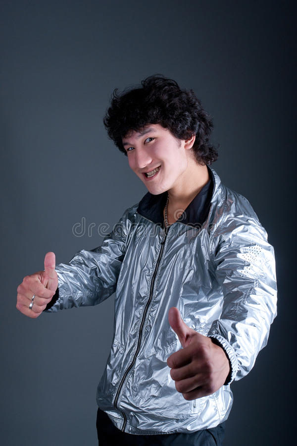 Download Young Asian Man Hand Positive Stock Photos - Image: 16683353