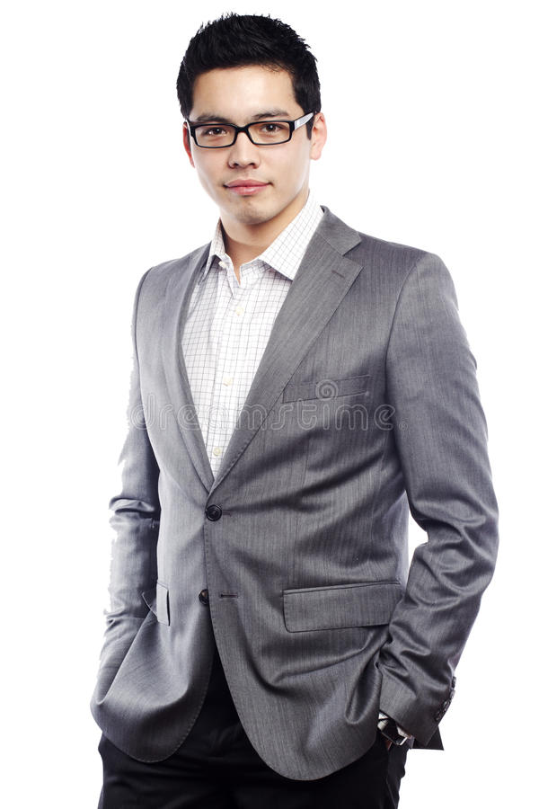 Free Young Asian Man In Business Attire Stock Image - 20703141