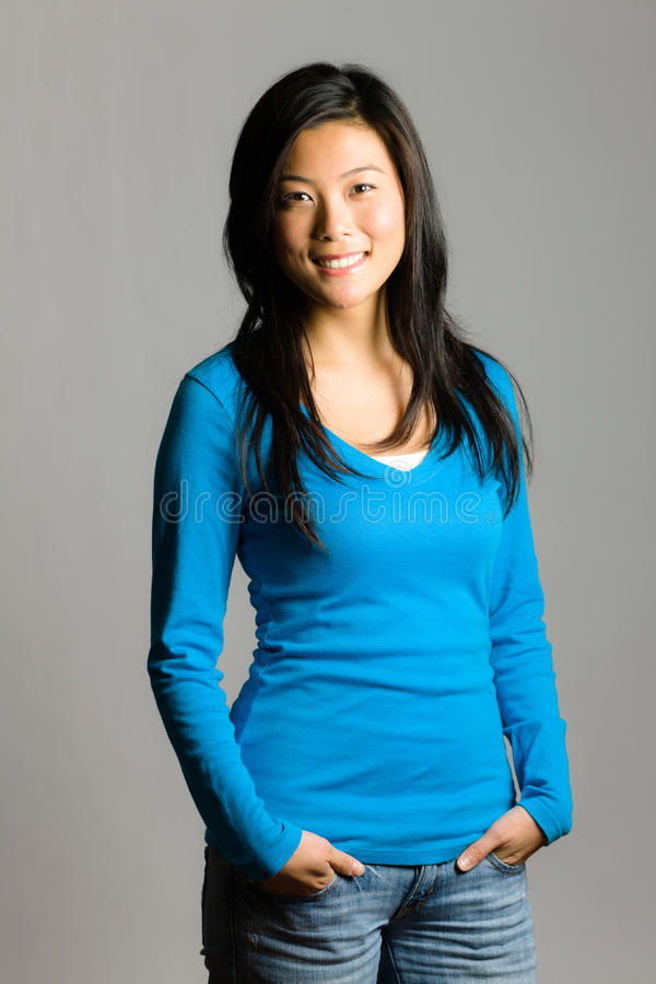 Young Asian Woman stock photography