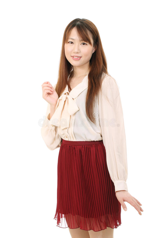 Download Young asian woman stock image. Image of charming, beautiful - 25926697