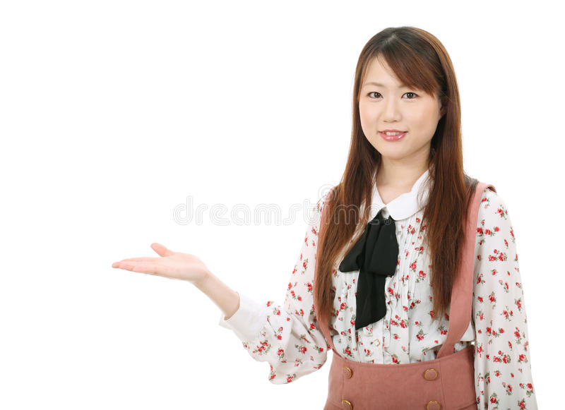 Download Young asian woman stock image. Image of japanese, charming - 26039251