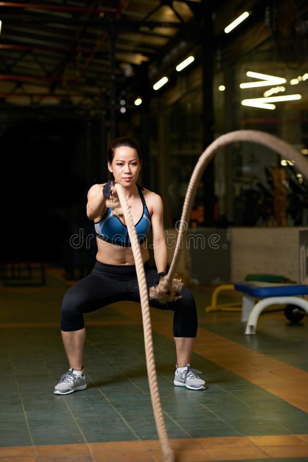 Functional training royalty free stock images