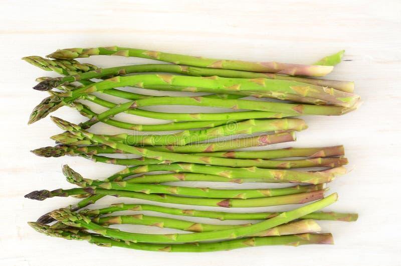 Young Asparagus Stock Photo