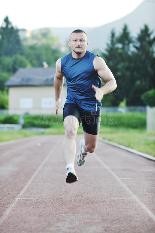 Download Young Athlete Running Royalty Free Stock Image - Image: 14788646