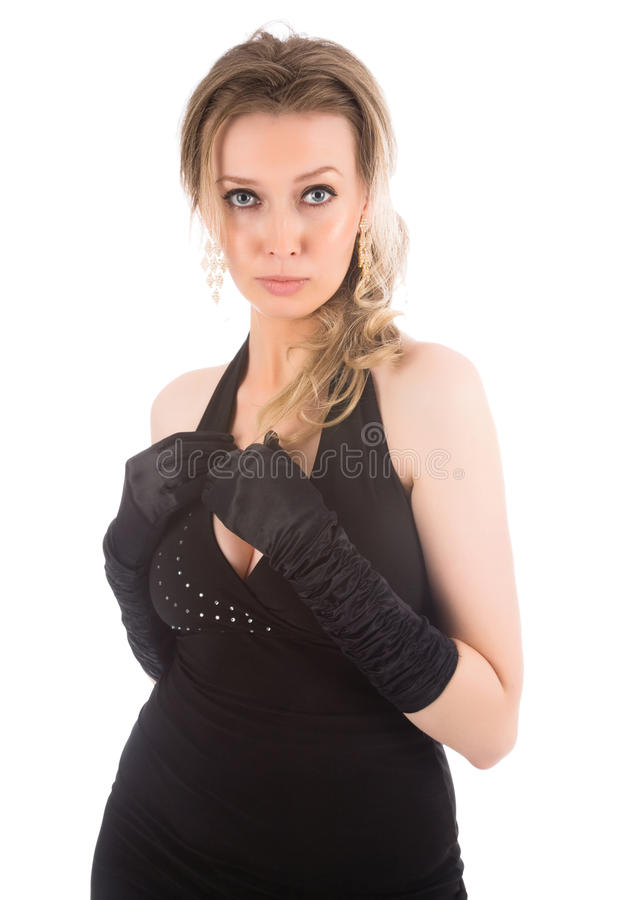 Young Attractive Blonde Woman Royalty Free Stock Photo