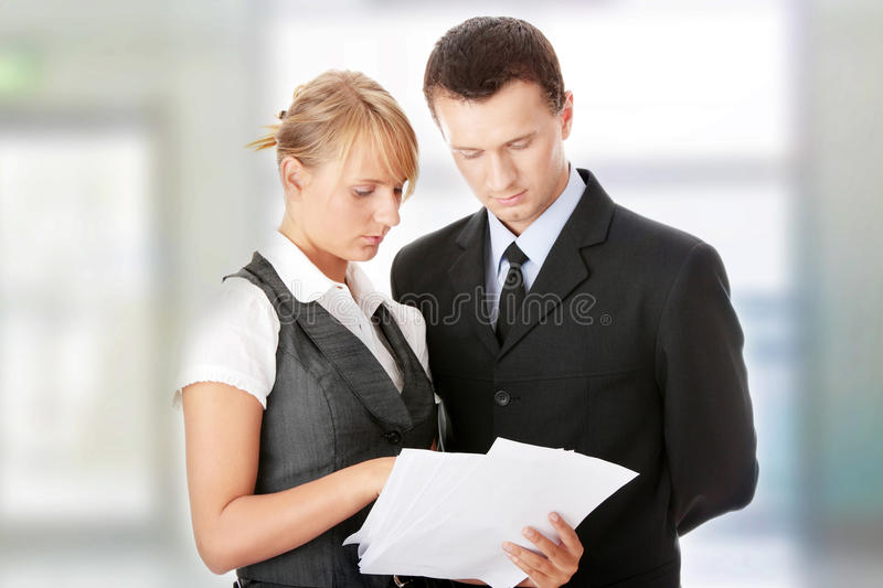 Download Young Attractive Business People Stock Image - Image: 13316971