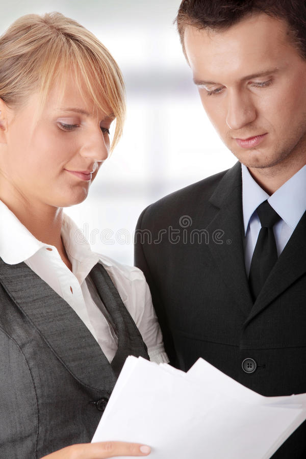 Download Young Attractive Business People Stock Photo - Image: 13317928