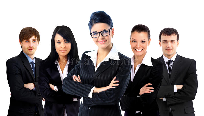 Download Young Attractive Business People Stock Photo - Image: 23034520