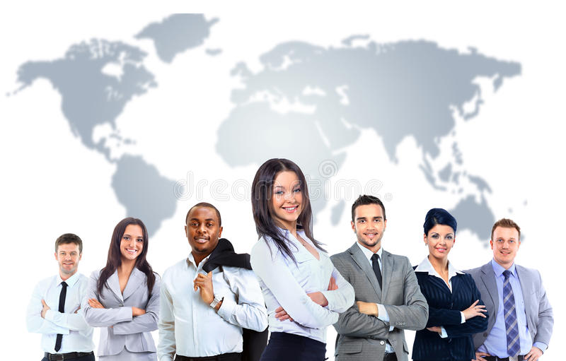 Download Young Attractive Business People Stock Photo - Image: 33044486