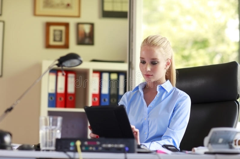 Download Young Attractive Business Woman Stock Images - Image: 35071164