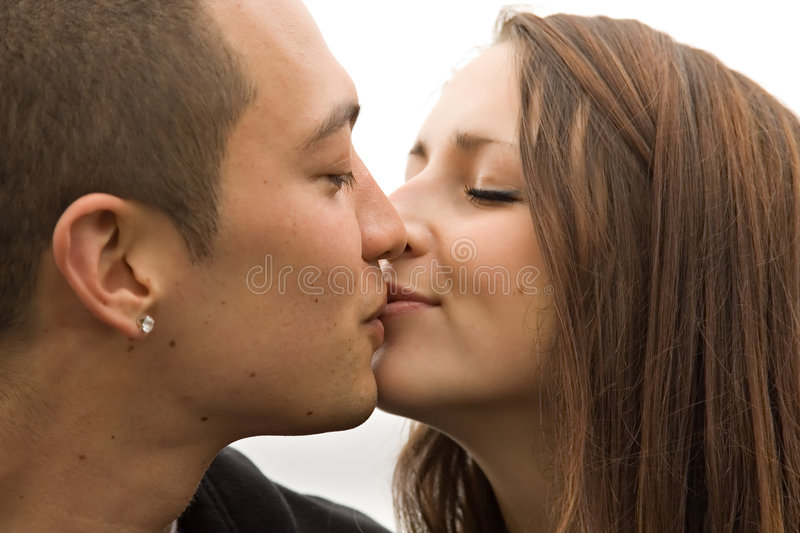 Download Young Attractive Couple Kissing Stock Photo - Image: 5401782