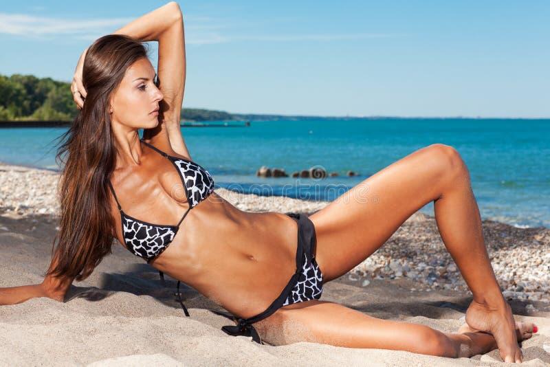 Italian girls nude at the beach