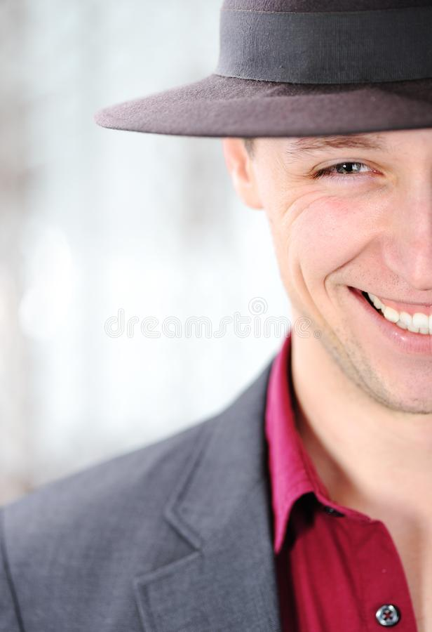Young attractive man royalty free stock photos