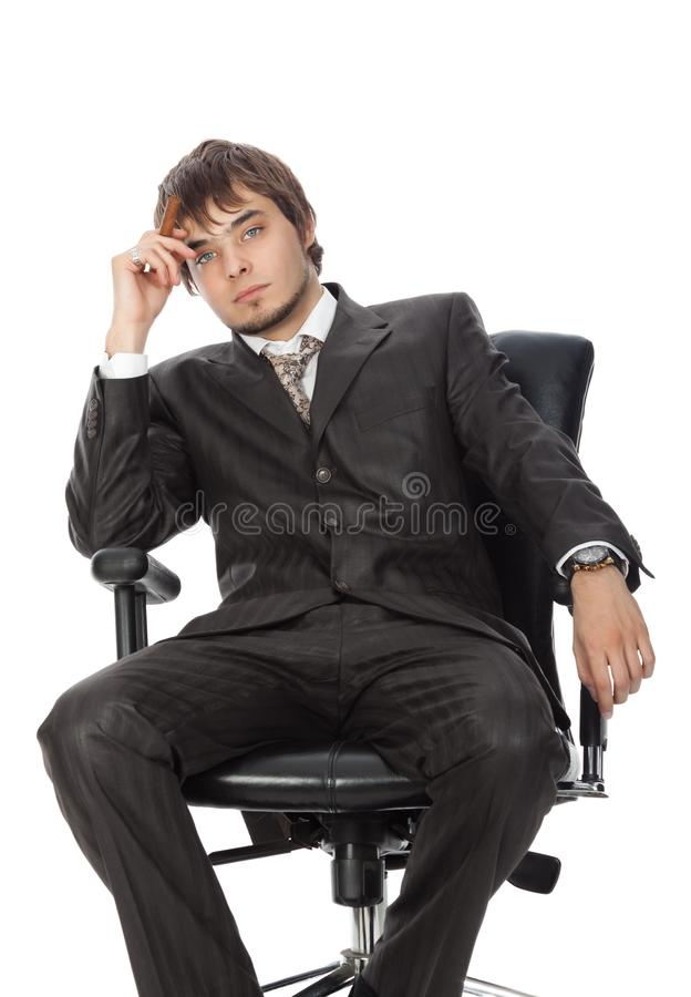 Young attractive man stock images