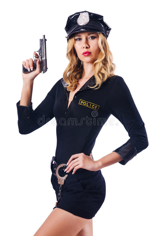 Download Young attractive  police stock image. Image of security - 27512603
